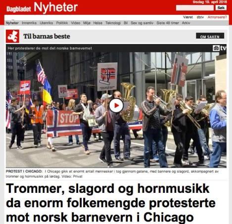 Steven Bonica video clip in Dagbladet (Norwegian newspaper)