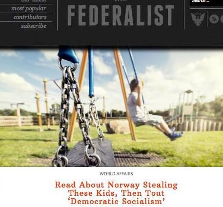 The Federalist newspaper about the Bodnariu case