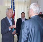 Viorel Iuga intalnire cu Ambasadorul SUA HansKlemm