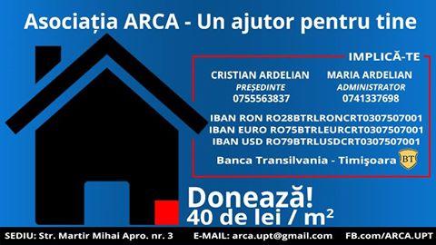 ARCA – Un ajutor pentru tine