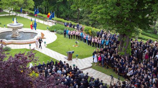Klaus Iohannis Ziua Europei 9 mai 2016 Foto Klaus Iohannis