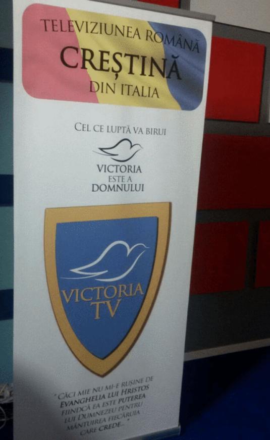 Victoria TV – primul post de televiziune evanghelic roman in Italia