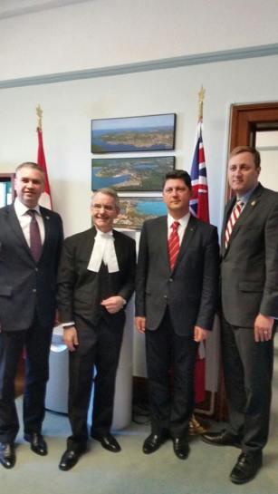 Ben Oni Ardelean & Titus Corlatean vizita de lucru Calgary & Ottawa Canada