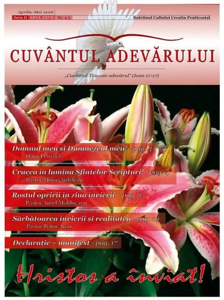 Cuvantul Adevarului - Editia nr. 4-5/2016