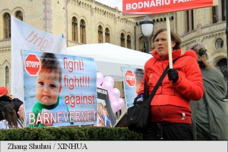 Cazul Bodnariu protest