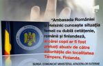 Ambasada Romaniei Helsinki Camelia Smicala cu copiiiFinlanda