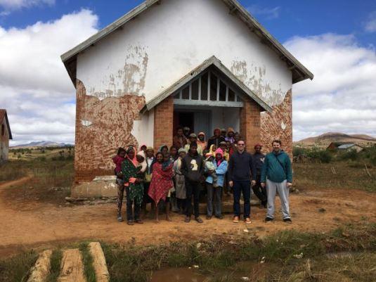 Ciprian Barsan vizita la Leprozerie
