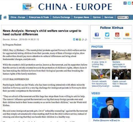 Cotidianul Chinez XINHUA despre cazul familiei BODNARIU - The Bodnariu family in the CHINESE Press