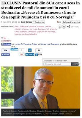 Cristian Ionescu Adevarul Interviu 5 mai 2016