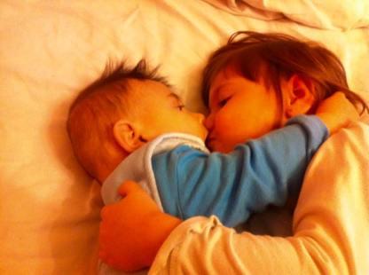 Andy & Diana cand erau mai mici