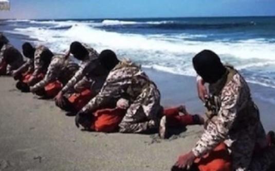 ISIS a executat 16 crestini etiopeni in Libia 12 mai 2016 Foto  Express.co.uk