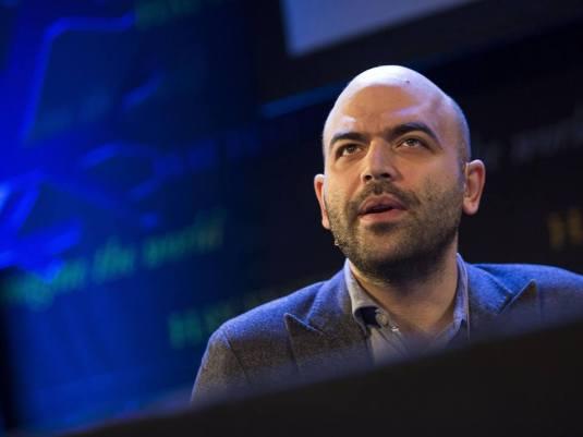 Journalist Roberto Saviano