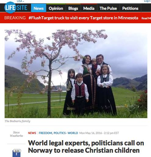 Lifesite reporta the Bodnariu case may 17 2016