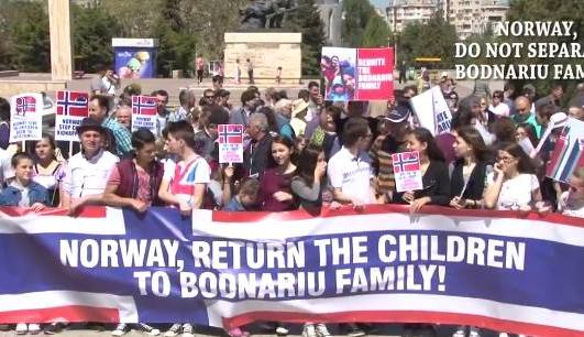 Norway return the children to Bodnariu familly 1