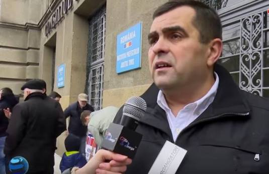 Samy Tutac Protest ProBodnariu Aprilie 2016