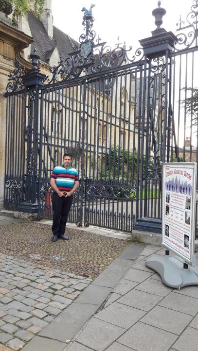 Nicolae Geanta la OXFORD 18 iunie 2016 Trinity College