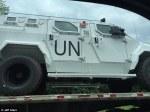 UN Combat militar y vehicles in Virginia Photo Jeff Stern via DailyMail