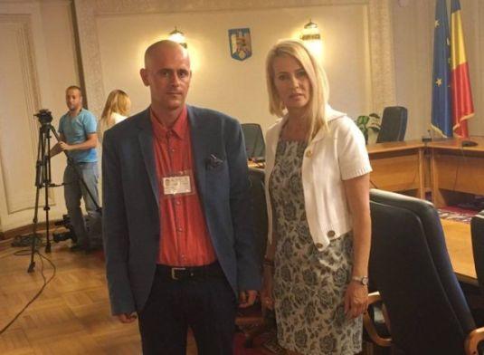 Florin Barbu cu Deputat Maria Grecea