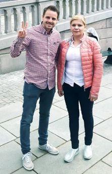 Mihai Dragoman cu Mihaela Nan Foto Mihai Dragoman