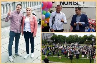Mihai Dragoman, Mihalea Nan, Europarlamentarul Tomas Zdechovsky, Marius Reikeras