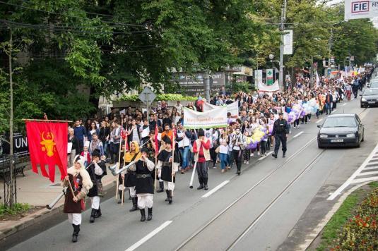 3000 de persoane din mai multe județe ale Moldovei au participat la Marșul pentru Familie în Iași
