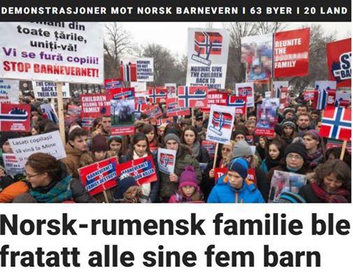 Presa Norvegiana despre reintregirea familiei Bodnariu