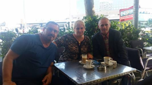 Lucica Boltasu cu Florin Barbu Spania 18 iunie 2016