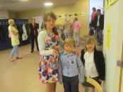 Maria si Mihai cu sora lor mai mare