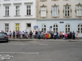 Florin Barbu Protest Viena 19 iunie 2016