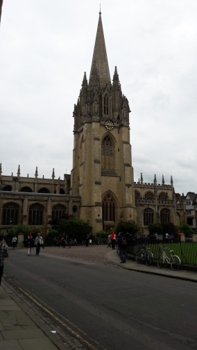 Nicolae Geanta la OXFORD 18 iunie 2016 Christ Church