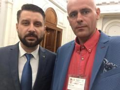 Florin Barbu a discutat cazul copiilor la o sedinta a comisiei Romanilor de Peretutindeni la Parlamentul Romaniei