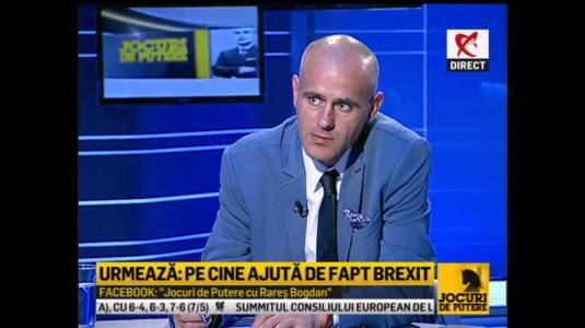 Florin Barbu Jocuri de Putere cu Rares Bogdan 29 iunie 2016