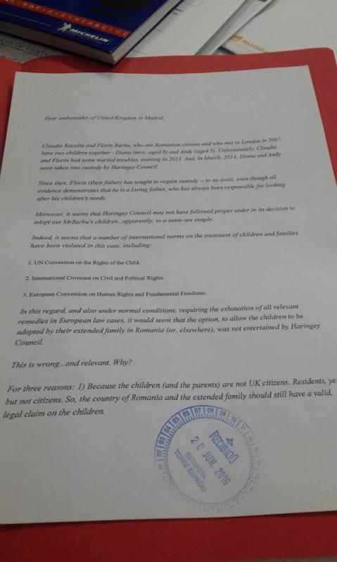 Florin Barbu Petitie cu 20.000 semnatari
