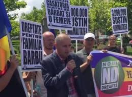 Florin Barbu Protest Bucuresti + Mars Pentru Normalitate sambata 25 iunie 16 3