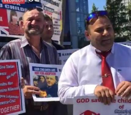 Florin Barbu Protest captura live feed Agnus Dei 16 iunie 2