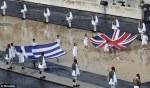 Greek and Englishflags