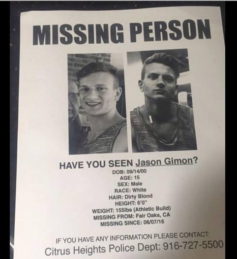 Missing Jason Gimon