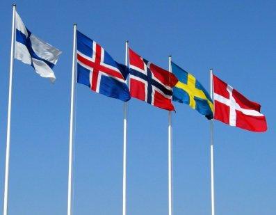 Nordic cross flags - Steagurile tarilor nordice cu cruce
