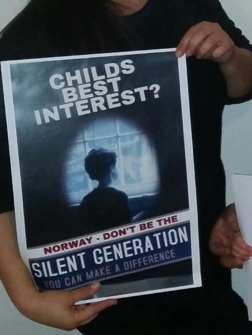 Norway,don't be the silent generation