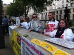 Protest pentru Florin Barbu in Londra Sambata 25 iunie 20162