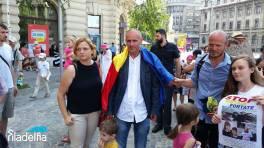 Protest sustinere Florin Barbu, Bucuresti, 26 iunie 2016 FOTO Radio Filadelfia