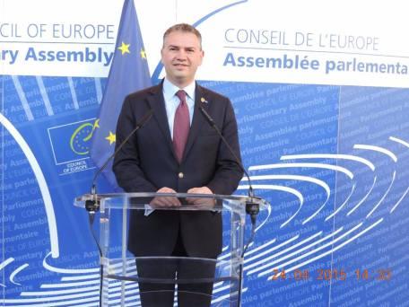 Senator Ben Oni Ardelean- Raport pe Cazul Bodnariu in AP a Consiliului Europei 1