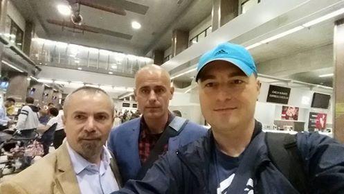 George Alexander, Florin Barbu si Dan Dragoman. Foto Dan Dragoman