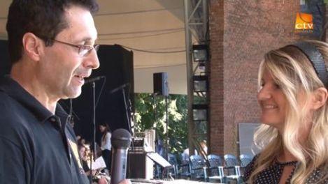 Ionel Bonta (Credo TV) Interviu cu Ani Petras in Timisoara. Portland Youth Choir tour ISUS DOMNESTE