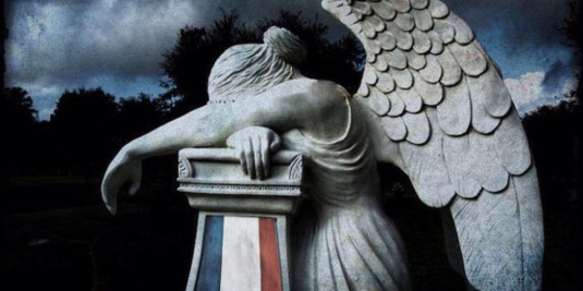 France weeping