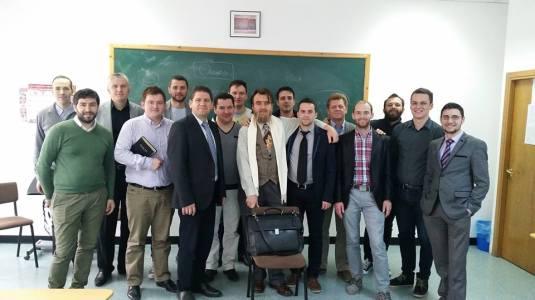 Andy Olariu cu colegii de la ITP promoția 2011-2015