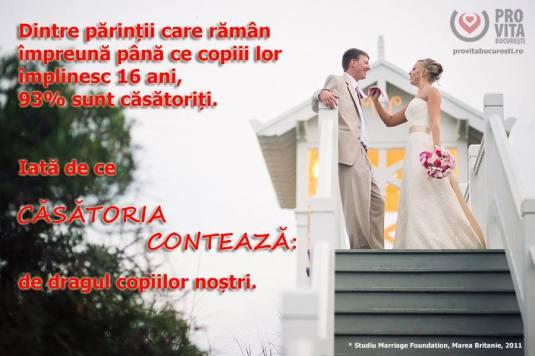 Casatoria conteaza FOTO ProVita