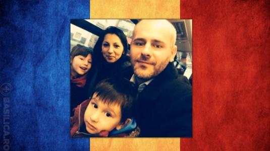 Florin Barbu romanian flag