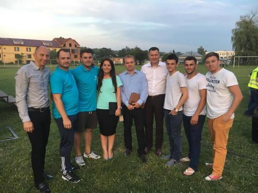 Florin Ianovici Daniel Popescu Misiune in Ucraina