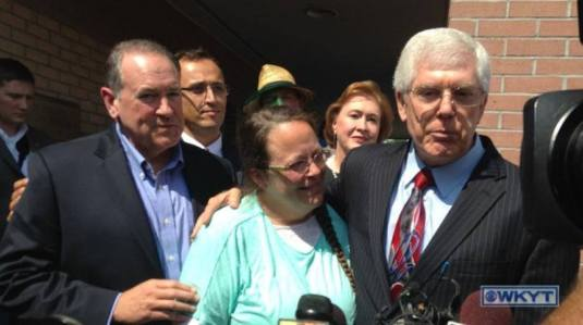 Harry Mihet with Kim Davis